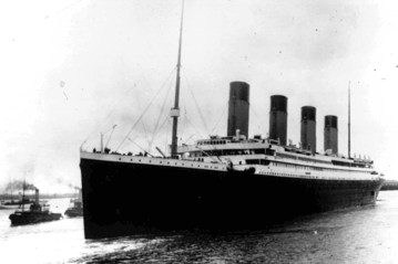 Associated Press The Titanic in Southampton, England, on April 10, 1912